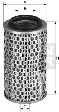 C 24 355/1 Luftfilterelement