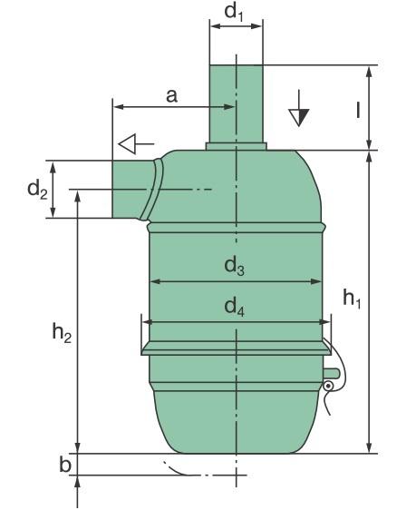 31 056 75 023 Luftfilter (EFT-Ölbadluftfilter)