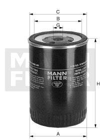WK 930/5 Kraftstoffwechselfilter