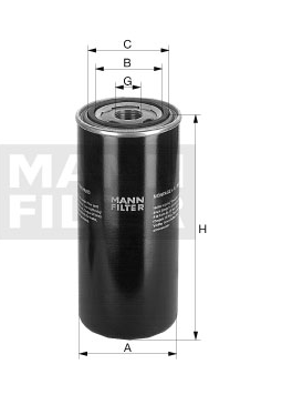 WD 940 Wechselfilter SpinOn