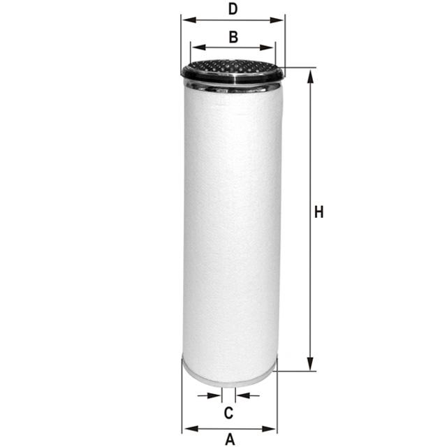 HP783 Luftfilterelement (Sekundärelement)
