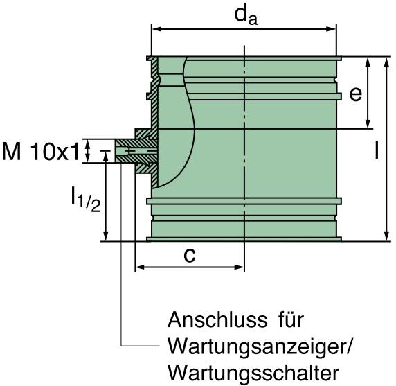 39 600 27 979 Verbindungsstutzen 110 x 72mm (TPE)