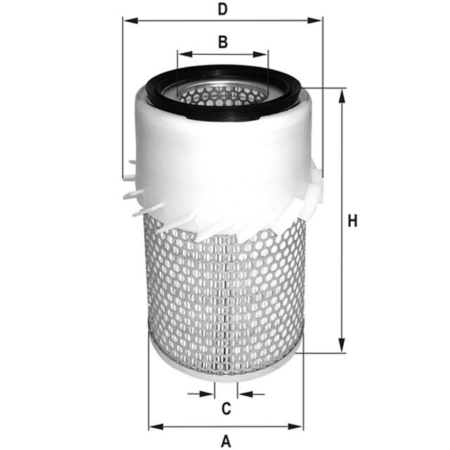 HP461AK Luftfilterelement