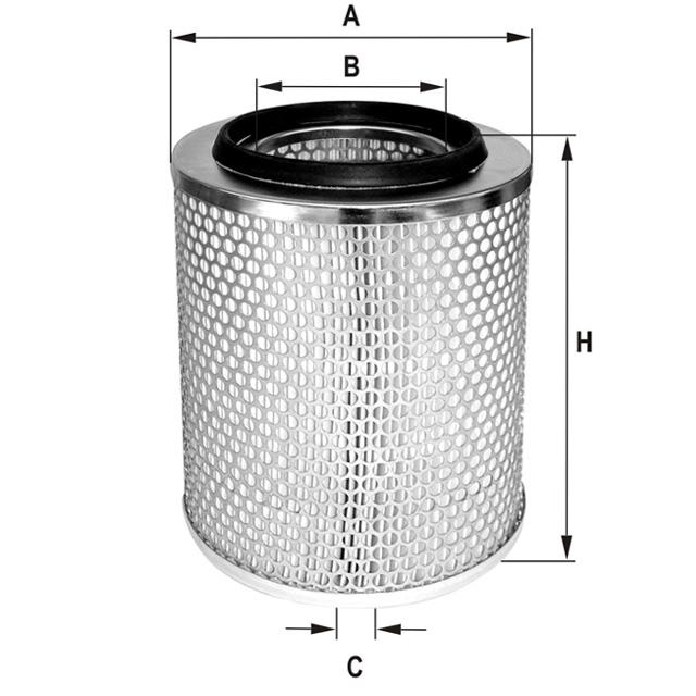 HP732 Luftfilterelement
