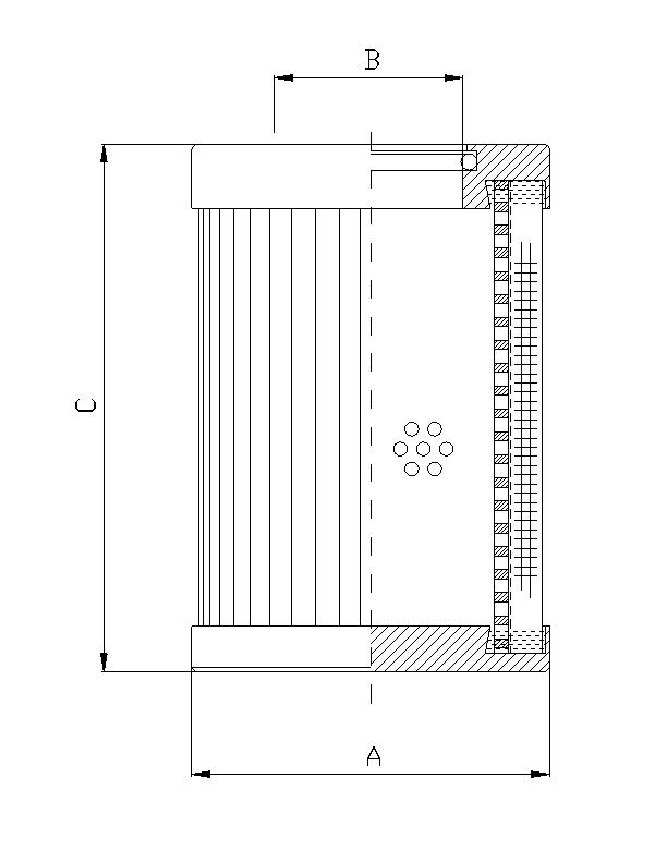 D141G03B Filterelement für Druckfilter
