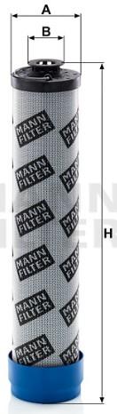 H 10 002 Flüssigkeitsfilterelement
