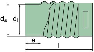 39 000 27 214 Faltenschlauch,D=110mm
