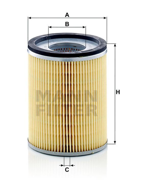 H 1366 x Flüssigkeitsfilterelement