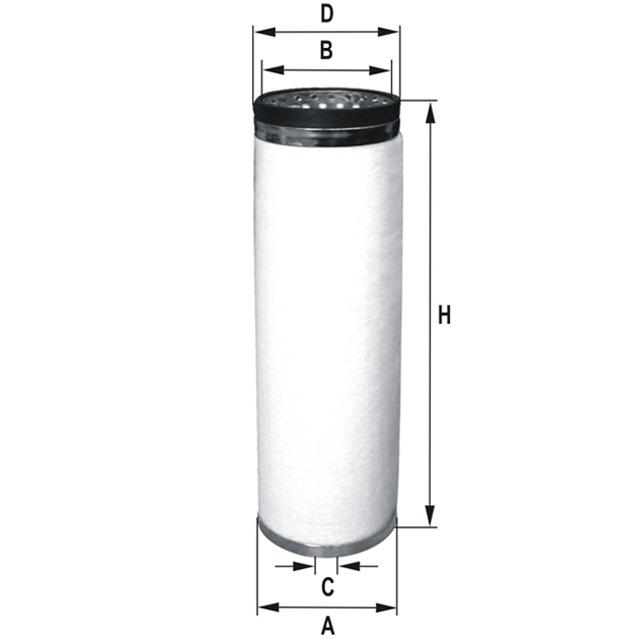 HP962 Luftfilterelement (Sekundärelement)