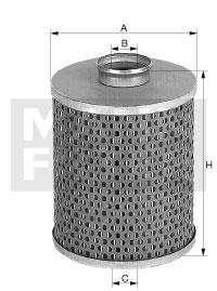 H 15 135 n Flüssigkeitsfilterelement