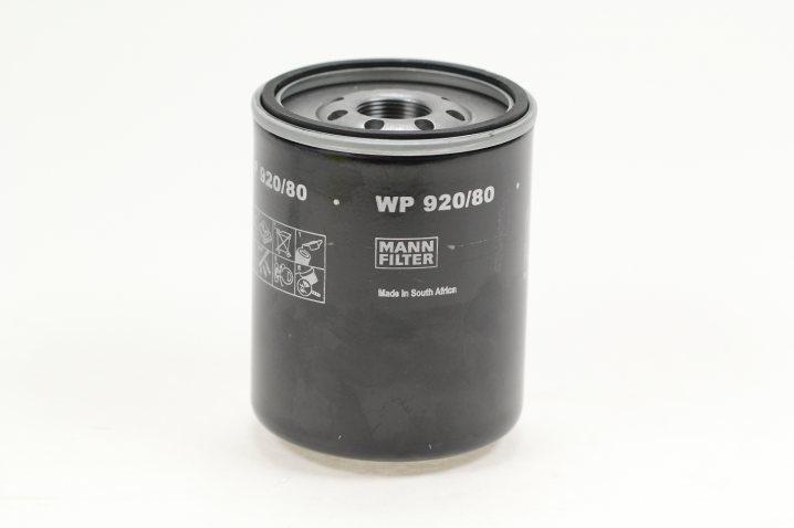 WP 920/80 Wechselfilter SpinOn (Nebenstrom)