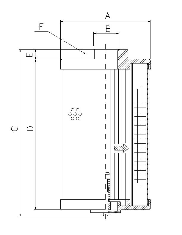 WP297 Hydraulikfilterelement