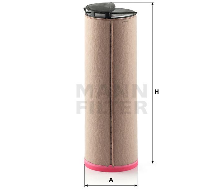 CF 710 Luftfilterelement (Sekundärelement)