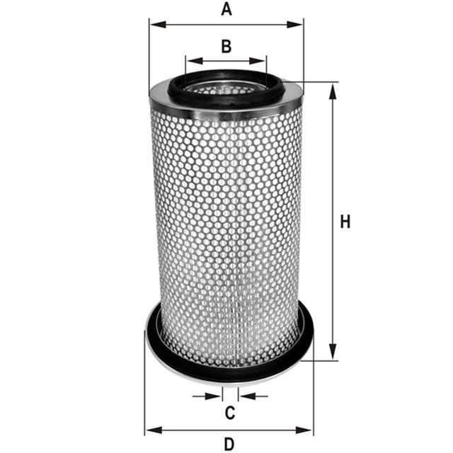 HP758 Luftfilterelement
