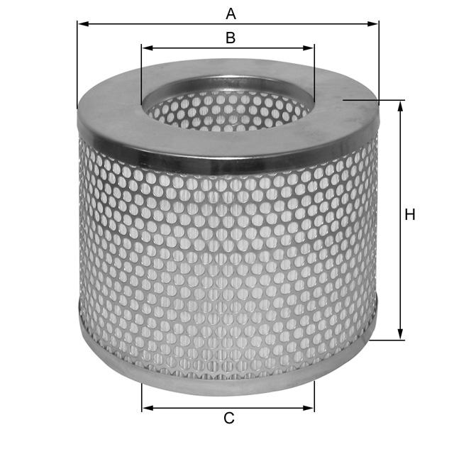 HP432 Luftfilterelement