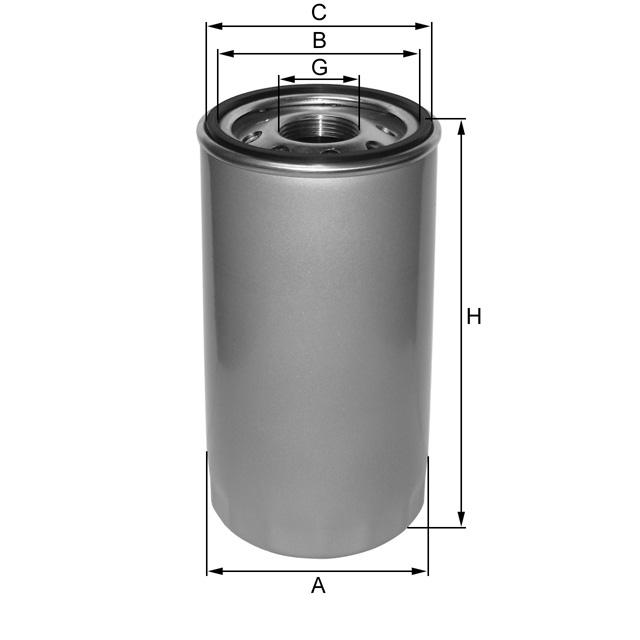 ZP3022B Wechselfilter SpinOn