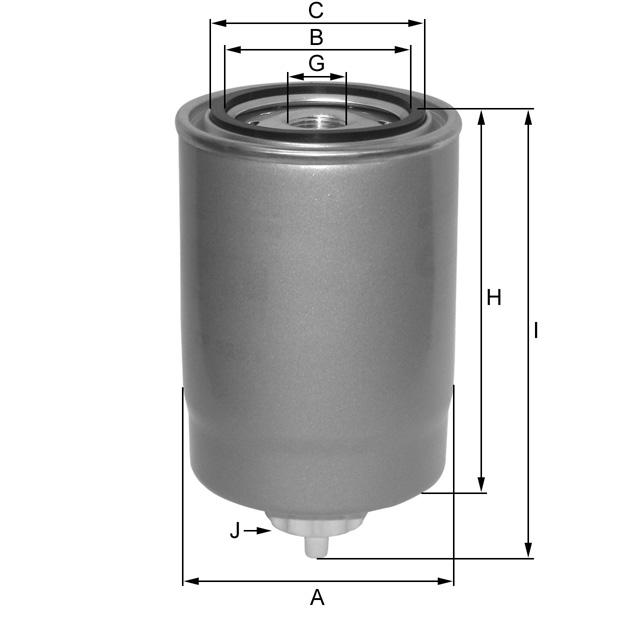 ZP512CF Kraftstoffwechselfilter
