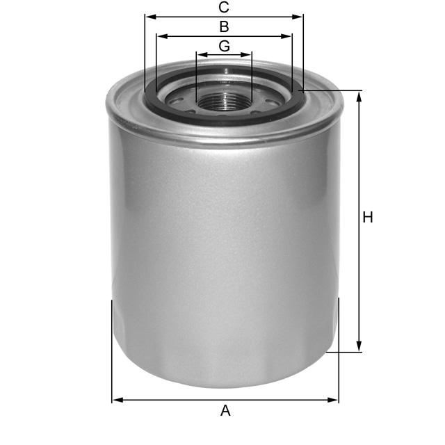 ZP562 Wechselfilter SpinOn