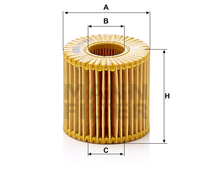 HU 7019 z Flüssigkeitsfilterelement (metallfrei)