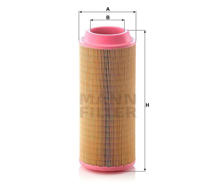 C 15 300 Luftfilterelement