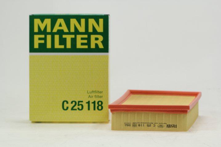 C 25 118 Luftfilterelement