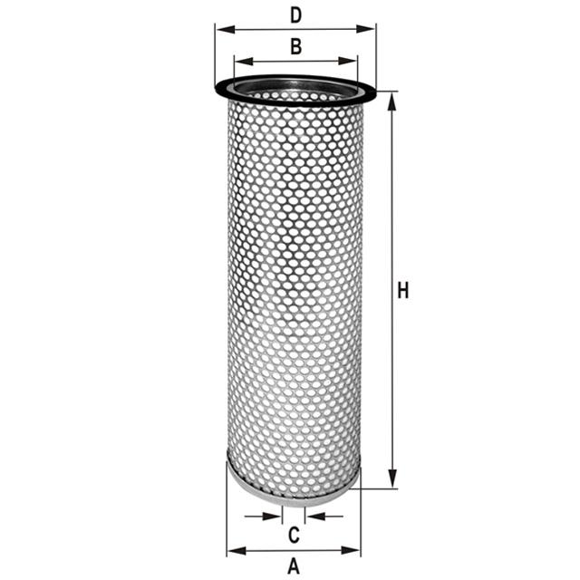 HP4527 Luftfilterelement (Sekundärelement)
