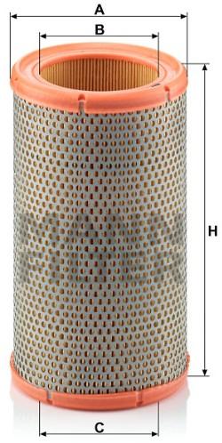 C 1380 Luftfilterelement