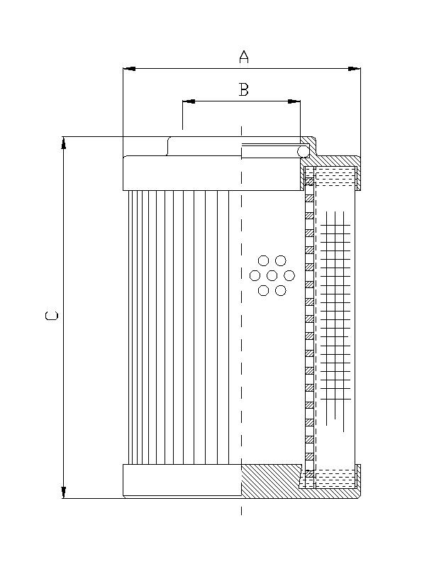 DHD330W200V Filterelement für Druckfilter