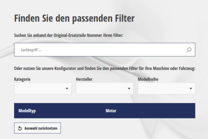 filter online umschlüsseln