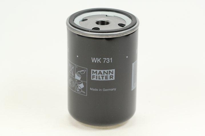 WK 731 Kraftstoffwechselfilter